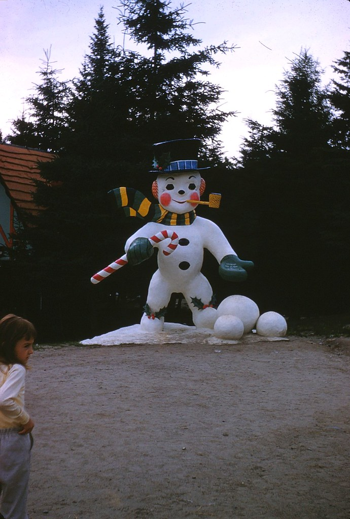 Frosty The Snowman At Santa S Village Jefferson New