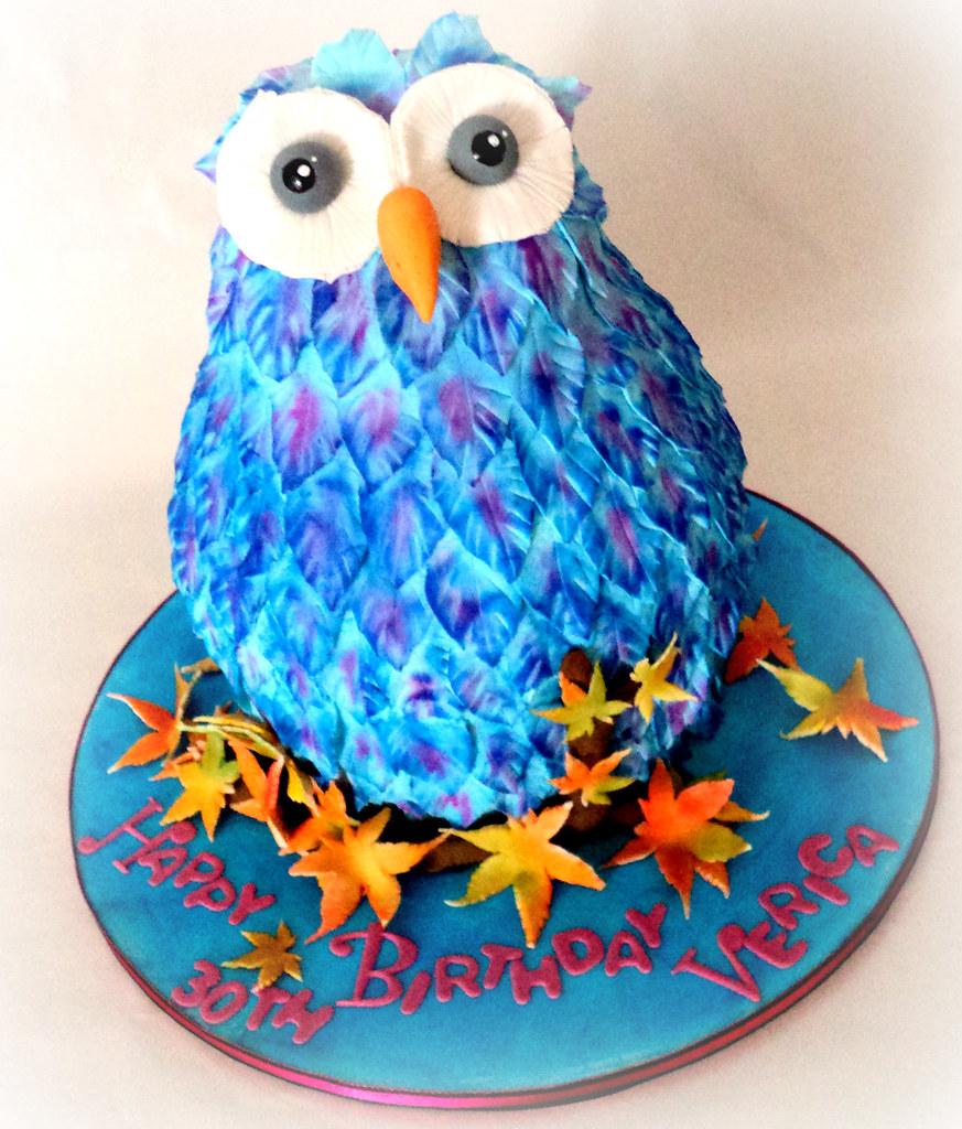Cake Owl D