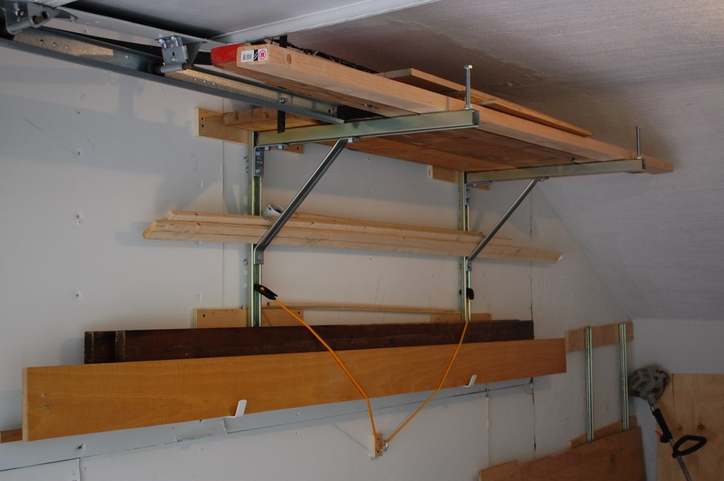 Unistrut Garage Storage | Dandk Organizer