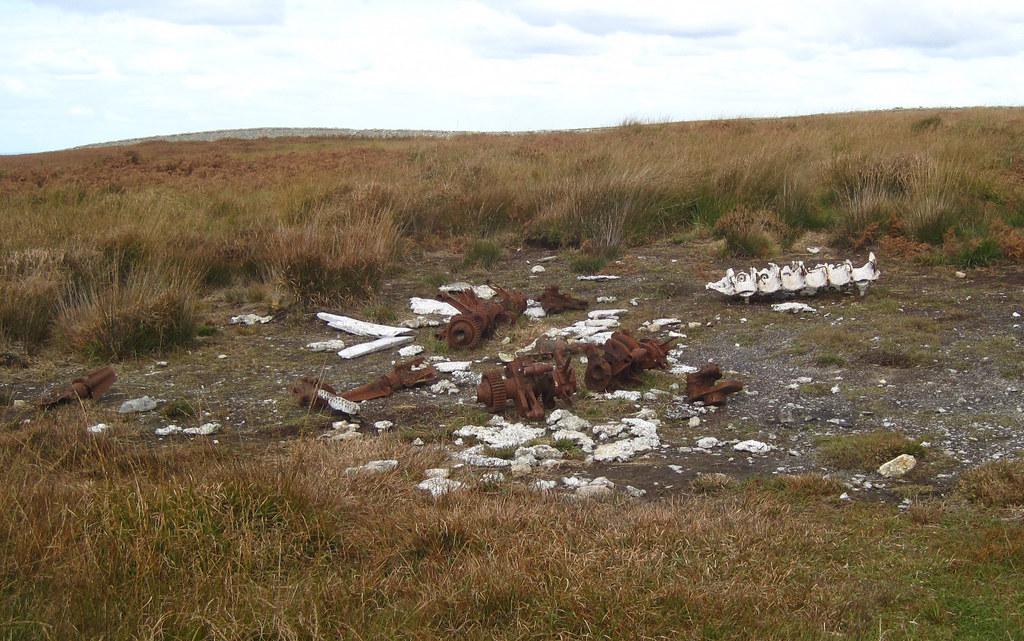 Lundy - German Wwii German Heinkel He 111 Crash Site  Flickr-8775