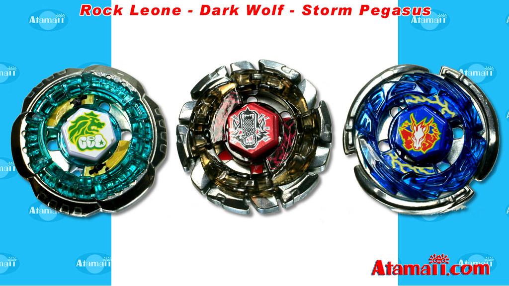 Beyblades: Rock Leone /Dark Wolf/Storm Pegasus | Beyblades ... Rock Pegasus Beyblade