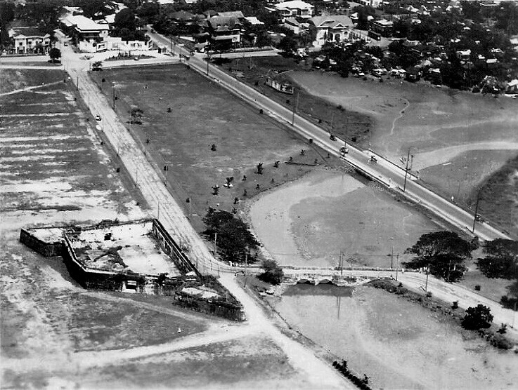 Aerial View Old Fort San Antonio Abad, Manila, Philippines ...