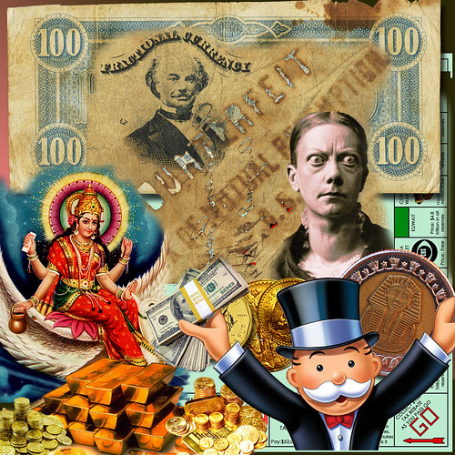 MONEY MONEY MONEY | by Atomic Mutant Flea Circus