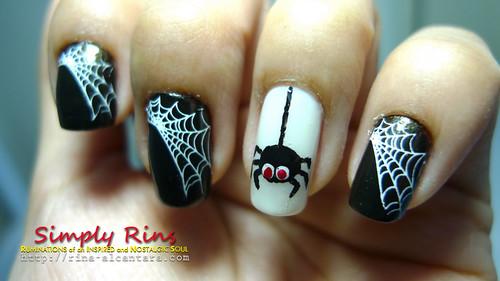 5040602455_2fd7680bd8 - Nail Art Halloween Spiders - Nail Arts
