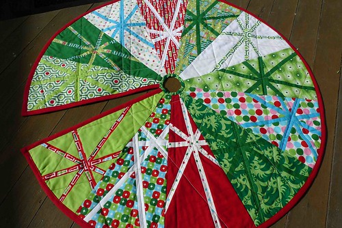 8. The finished christmas tree skirt | by thundymac