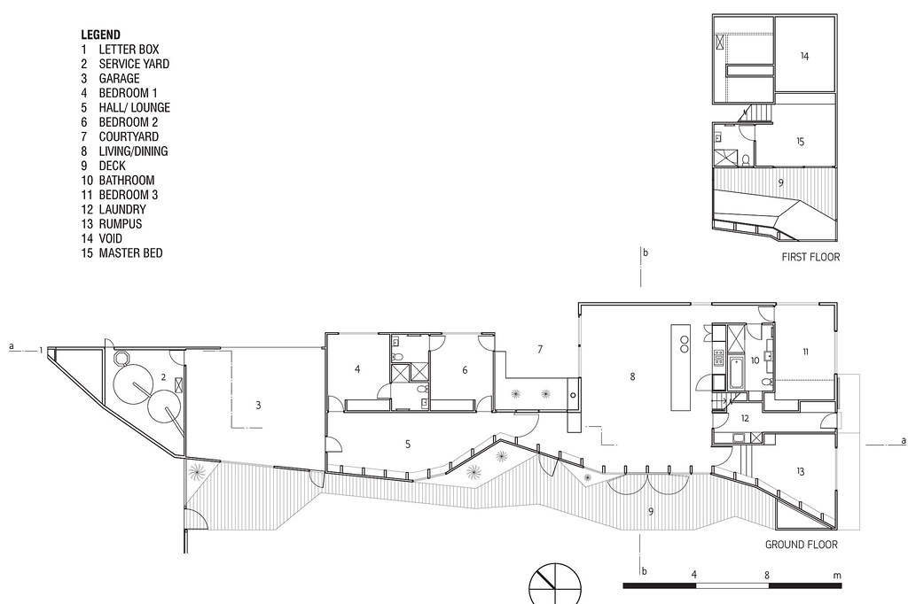 Letterbox Plan With Section Lines Letterbox House Blairg Flickr - Letterbox-house-in-blairgowrie-australia