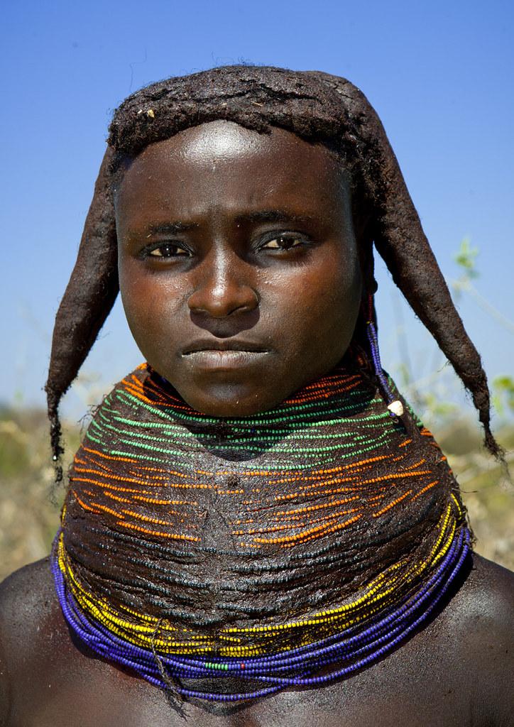Mwila Giant Necklace Angola Mwila Or Mwela Mumuhuila