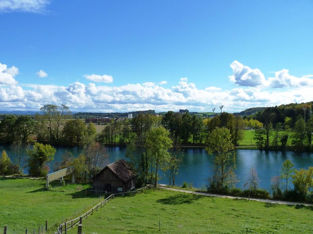 From Feldbrunnen, the river Aare