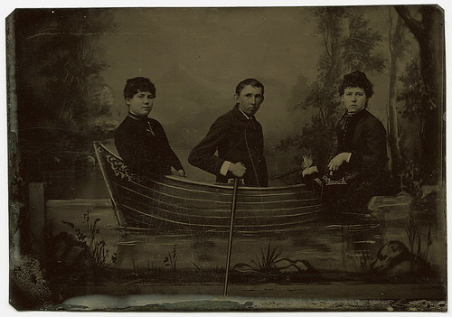 Three in a Rowboat | by WonderfullyStrange