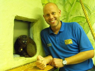 Head Keeper - Mark Kenward with Kirioka | by Day Out at Drusillas Park