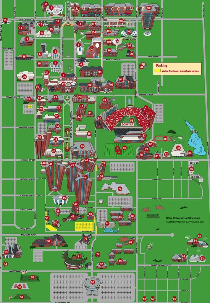 Ou Campus Map OU Campus Map web | j.mosesman | Flickr Ou Campus Map