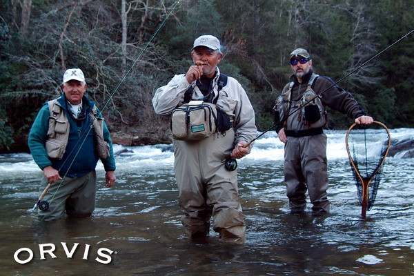 Orvis fly fishing contest fly crew trout ron for Orvis fly fishing blog