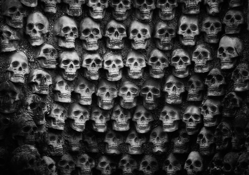 Wall of Skulls | by Walt Stoneburner