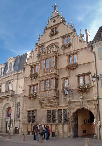 la maison des t tes colmar construite en 1609 pour le. Black Bedroom Furniture Sets. Home Design Ideas