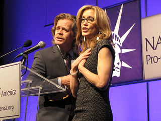 Felicity Huffman and William H. Macy | by naralprochoiceamerica