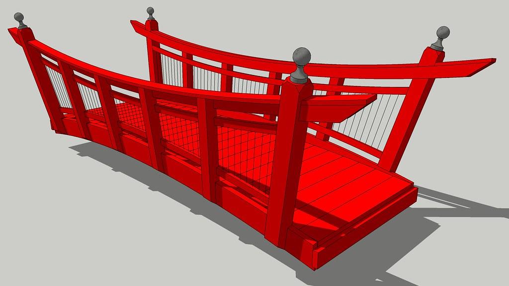 Bridge japanese style bridge 20 39 0 span meets ada for Japanese style bridge
