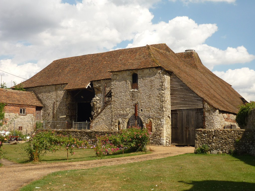 Medieval Barn Next To The Archbishop S Palace Charing Ke