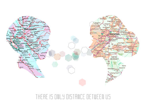 There is only distance between us | by meera lee