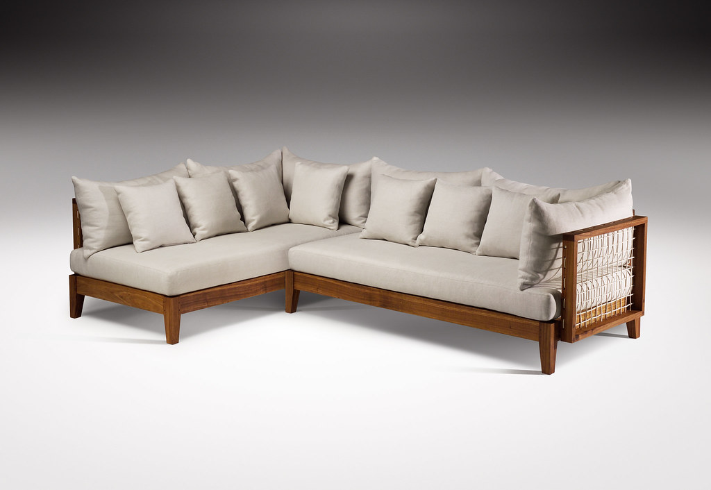 Riempie L Shape Couch Designed By Haldane Martin Photo J