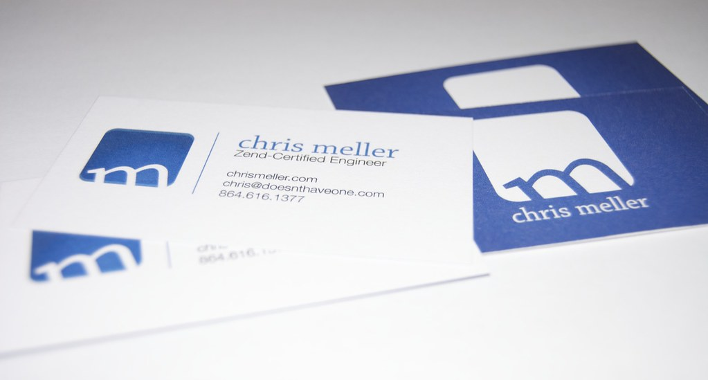 Business Cards | Chris Meller | Flickr
