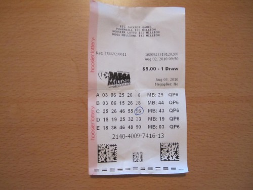 Indiana Mega Millions Lottery Ticket | by danxoneil