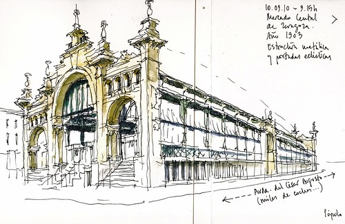 Zaragoza Mercado Central Nice Steel Structure With