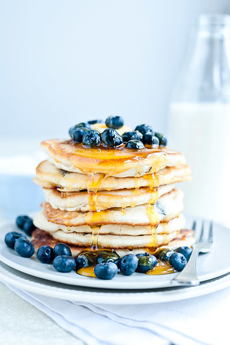 Blueberry Pancakes | by Sarka Babicka Photography