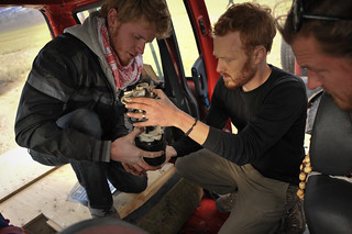Charlie & Tyler Fixing Fiat Doblò's Fuel Pump | by goingslowly