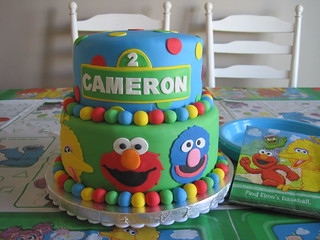 SESAME STREET CAKE | by The Sugar Fairy Cakes & Cookies