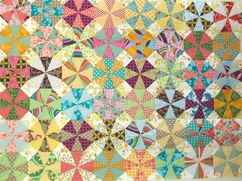 Kaleidoscope quilt for Riley | by clothwork
