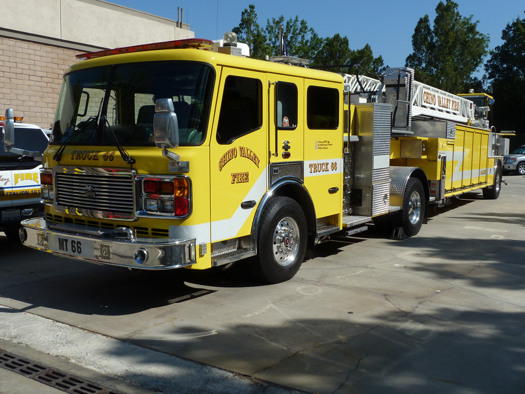 Chino Valley Fire Truck 66 | Chino Valley Fire, Station 6 ...