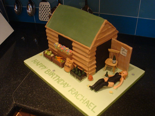 Shed Birthday Cake