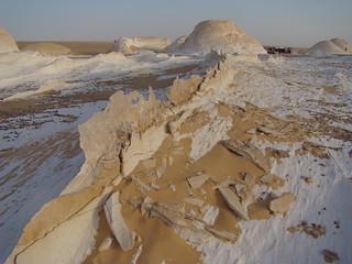 Crestas eólicas - White Desert (Egipto) - 06