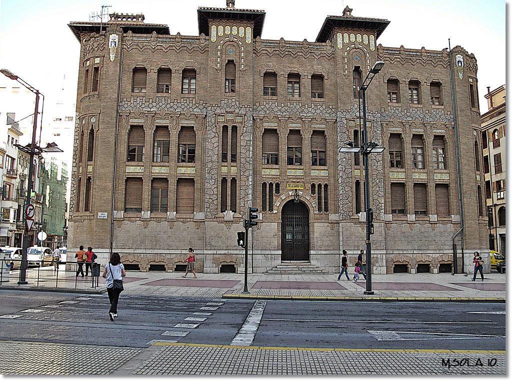 7232m10 edificio correos castell n la oficina de
