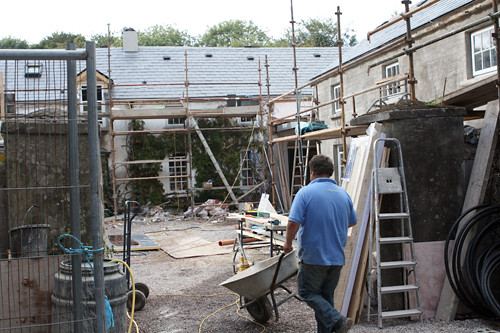 Construction at Ballymaloe | by David Lebovitz