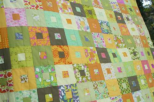 Fat Quarterly quilt along top | by freshlypieced