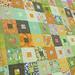 Fat Quarterly quilt along top