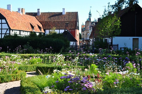 Bergengrenska trädgården i Simrishamn