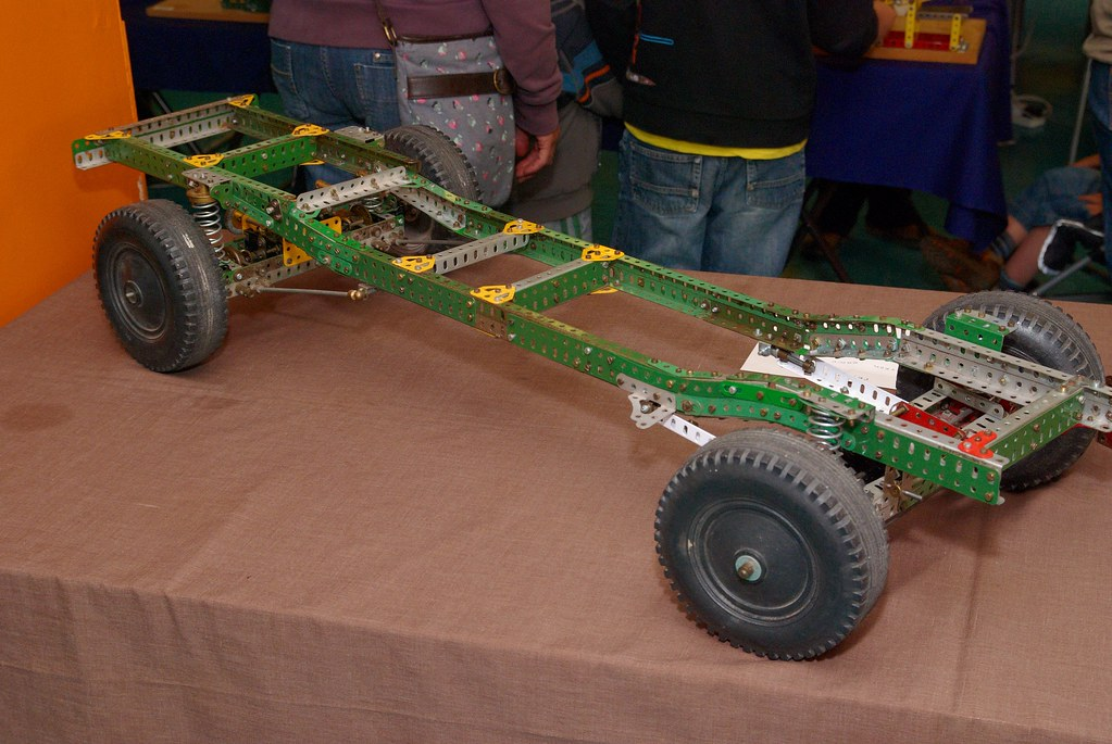 Meccano Land Rover 130 Chassis by Edward Pritchard | Flickr
