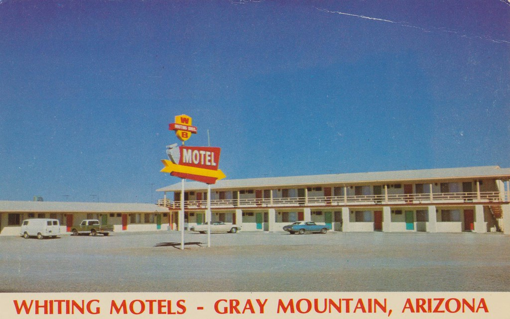Whiting Brothers Motel - Gray Mountain, Arizona