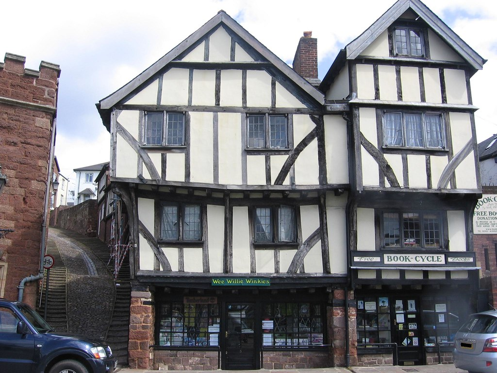 Tudor Architecture exeter tudor architecture | mountainranger74 | flickr
