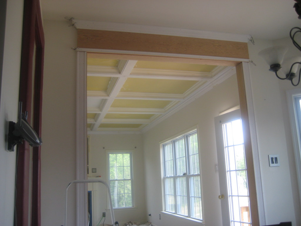 ... Home improvement ideas coffered ceiling (5) - by The Finishing Company Richmond Va
