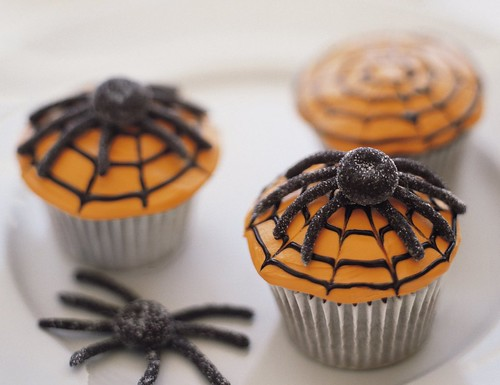 Scary Spiderweb Cupcakes Recipe | by Betty Crocker Recipes