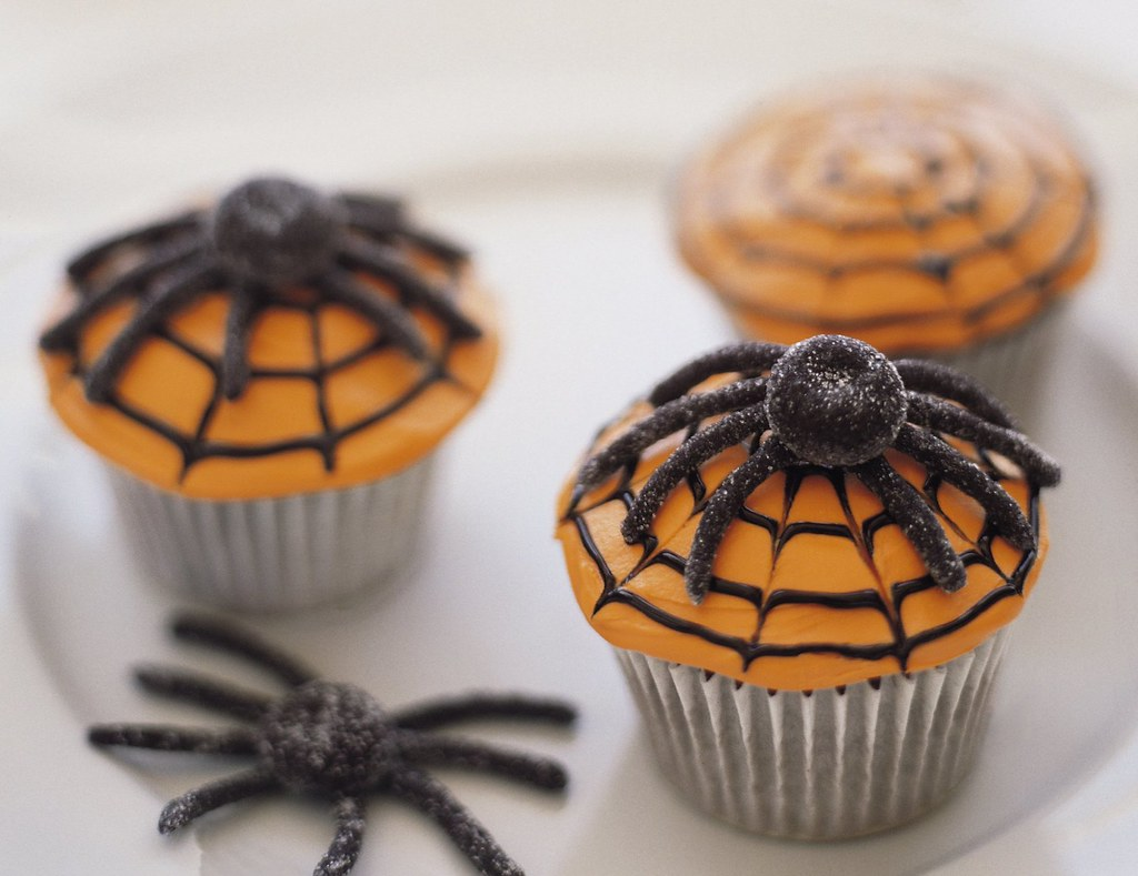 Scary Spiderweb Cupcakes Recipe Ingredients 1 Box Betty