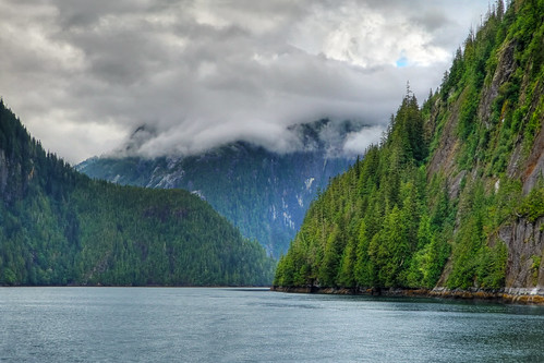 "A break in the mist - Misty Fjords, Alaska | by IronRodArt - Royce Bair (""Star Shooter"")"