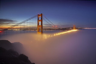 Fog at the Golden Gate #1 - San Francisco | by PatrickSmithPhotography