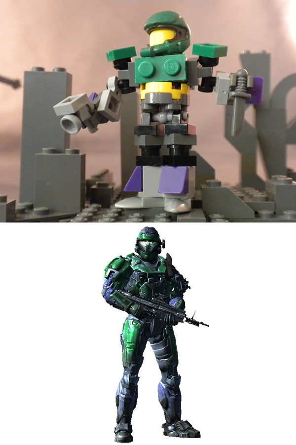 Lego spartan stevie1177 wip wip of my spartan in halo - Lego spartan halo ...
