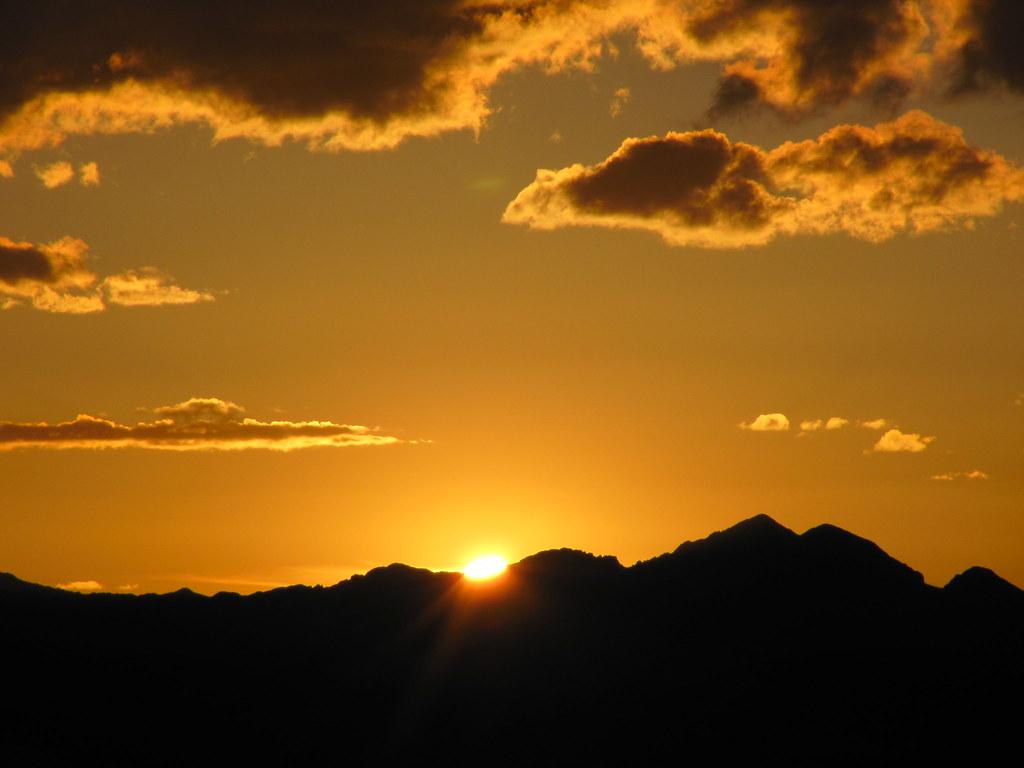 Sunset Rocky Mountain National Park