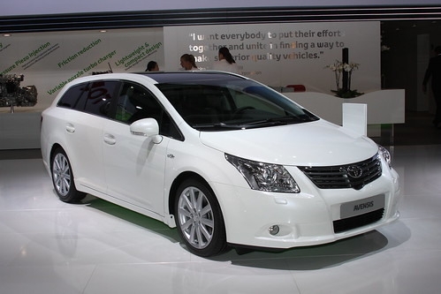 toyota at the paris motor show 2010 avensis all the highl flickr. Black Bedroom Furniture Sets. Home Design Ideas