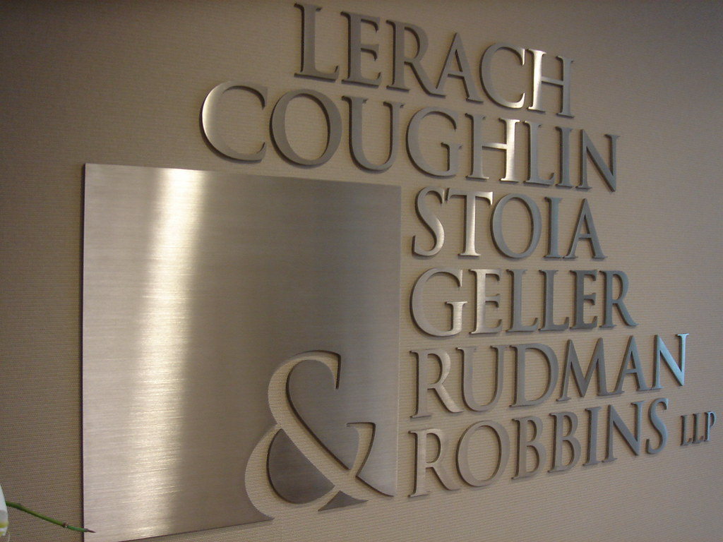 brushed aluminum letters interior sign by quotemysignscom